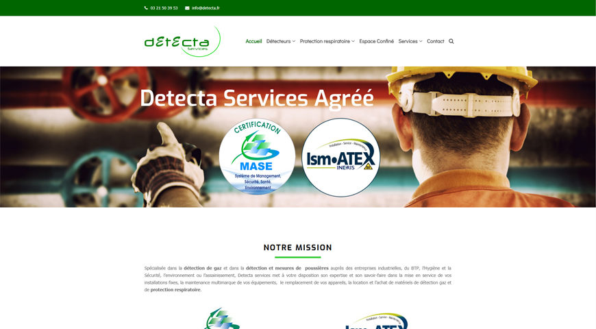 certification Mase detecta Services
