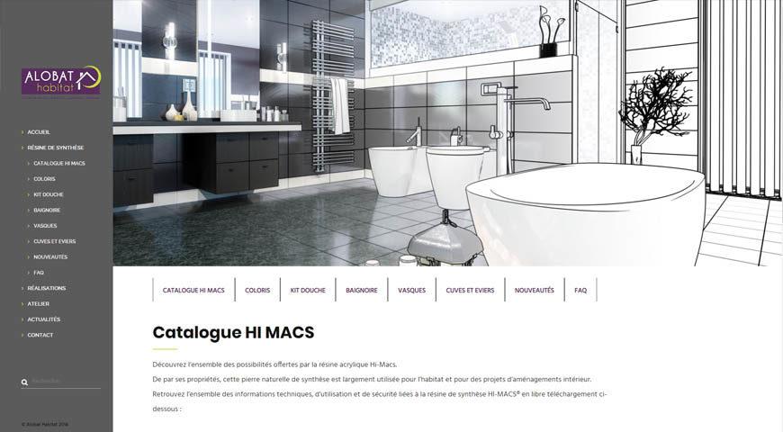 Catalogue Hi-Macs Alobat Habitat