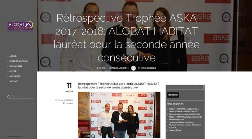 rétrospective aska Alobat Habitat